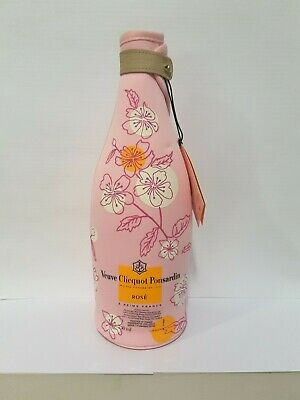 Veuve Clicquot Rose Champagne Chiller Jacket. Sakura Collection. Official VCP.