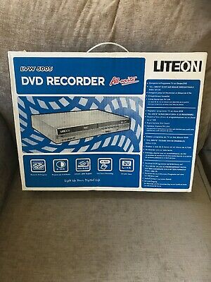 RARE Brand New In Box Liteon DVD Recorder LVW 5005 Lite-On 2004 Never Been Used