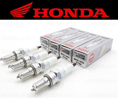 Set of (4) NGK IMR9C-9HES Spark Plugs Honda (See Fitment Chart) #31912-MEL-003