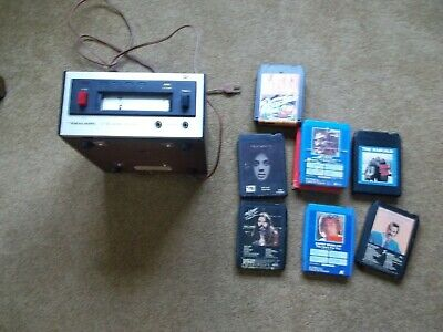 Realistic 8 Track Tape Player, Tr -700. Plus 6 Tapes