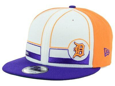 info for d65c7 9ff2d Detroit Tigers New Era MLB Topps 1983 9FIFTY Snapback Cap Hat Lid Flat Bill  Brim