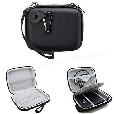 Black 5inch Portable Carry Case Fit For Western Digital WD Elements Hard Drive