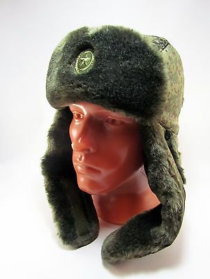 237ca6360bf RUSSIAN MILITARY ARMY VKBO style tactical winter ushanka hat EMR ...