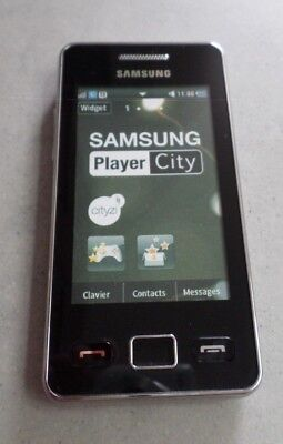 TELEPHONE *** FACTICE *** Smartphone SAMSUNG PLAYER CITY S5260P / Noir