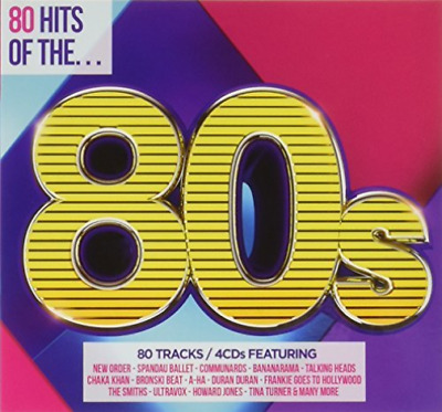 Various Artists-80 Hits Of The 80`S CD NEW