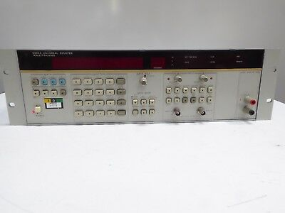 HP 5335A UNIVERSAL COUNTER 200 MHz Opt 020 040 AND H20? (HAND WRITTEN ON OPTS)