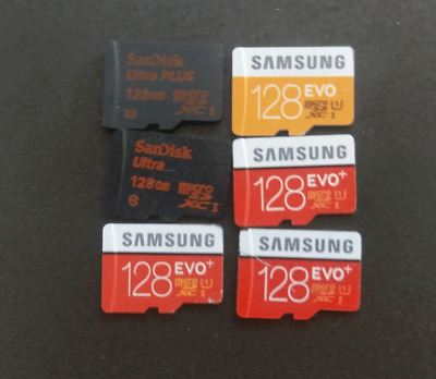 128 gb / 64gb / 32gb / 16gb microSD Cards  micro sd - cell phone memory  - FAST!