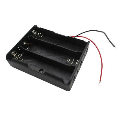 3.7V Battery Holder Case for 3x 18650 Batteries Storage Box 3 Slot with Wire