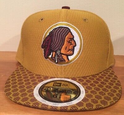 d9da00017c8ef Washington Redskins New Era NFL Youth On Field 59FIFTY Fitted Cap Hat 6 3 8
