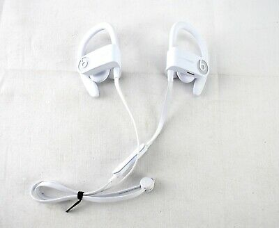 GENUINE USED Beats by Dr. Dre - Powerbeats³ Wireless - WHITE ML8W2LL/A - 2399CL