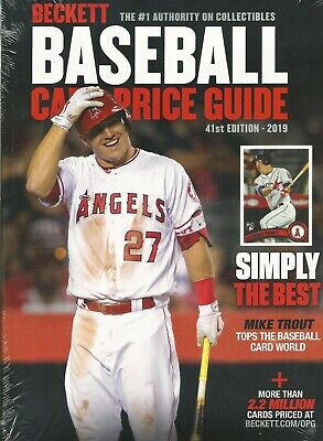 2019 Beckett Baseball Card Annual Price Guide - 41st Edition - $39.95 SRP
