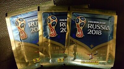 Fifa World Cup Russia 2018 Stickers - 100 Packets