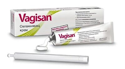 Vagisan Moisturizing cream for vaginal dryness with applicator softens skin