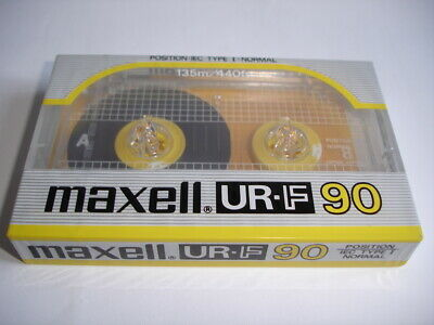 Maxell UR-F 90 | Kassette Audio Cassette OVP | Collectors tape sealed