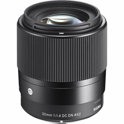 Sigma 30mm f/1.4 DC DN Contemporary for Sony E-Mount. U.S. Authorized Dealer