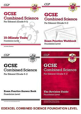 Foundation Edexcel Gcse Combined Science Revision 4 Book Bundle From 2020