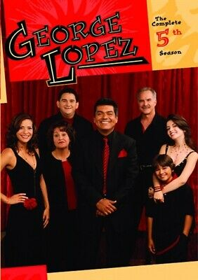 GEORGE LOPEZ COMPLETE 5TH SEASON 5 New Sealed 3 DVD Set