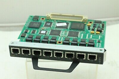 1 Year Warranty and Free Ground Shipping Cisco PA-MCX-8TE1