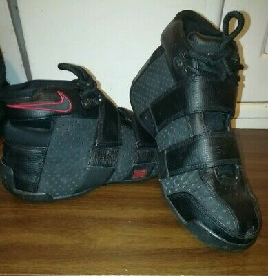 1b1c69e91a2 Nike Zoom LeBron 20-5-5 2005 Black Varsity Red 311145 Mens 11.5 Basketball