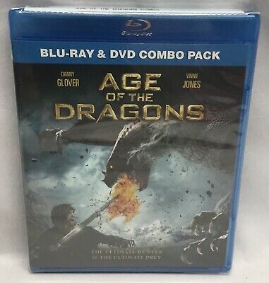 Age of the Dragons (Blu-ray/DVD, 2012, 2-Disc Set) Brand New! Factory Sealed!