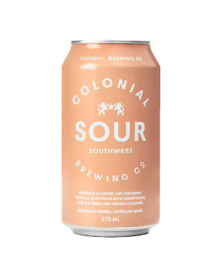 Colonial Brewing Co. SouthWest Sour Cans 375mL Beer case of 24