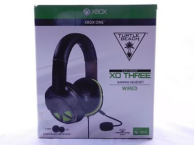 TURTLE BEACH XO THREE Wired Surround Sound Gaming Headset Xbox One Ear Force