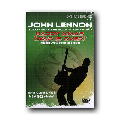 Learn to Play Happy Xmas War is Over by John Lennon 10-Minute Teacher DVD