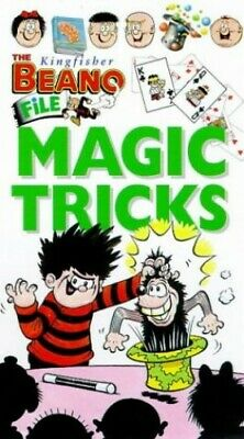 Magic Tricks (Kingfisher Beano File) by Goetz Paperback Book The Cheap Fast Free