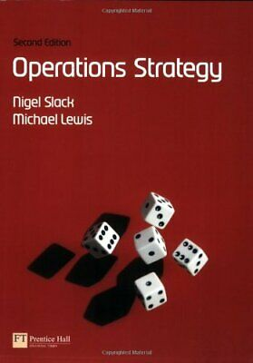 Operations Strategy by Lewis, Mike Paperback Book The Cheap Fast Free Post