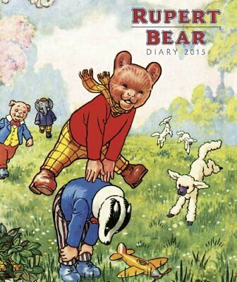 Rupert Bear illustrated desk diary 2015 (Flame Tree P... by Flame Tree Publishin