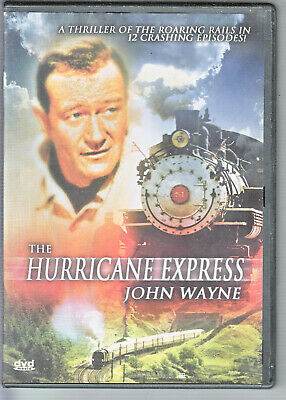The Hurricane Express (12 Chapter Series) (DVD, 2006 ) REGION FREE ~ NEAR MINT