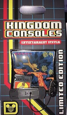 Disney Pin Kingdom Consoles Video Game The Lion King LE 4000 In Hand