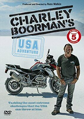 Charley Boorman's USA Adventure [DVD] - DVD  PSVG The Cheap Fast Free Post