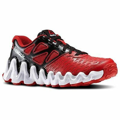 b1bdeff7ab4f1 REEBOK M47258 ZIGTECH BIG IN TOUHG Jr s (M) Black Red Synthetic Running  Shoes