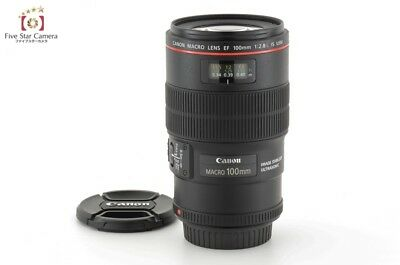 Excellent+++!! Canon EF 100mm f/2.8 L MACRO IS USM from Japan
