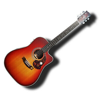 Maton SRS70C CHERRYBURST Limited Edition Acoustic Electric Guitar AP5PRO w Case