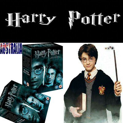 HOT Harry Potter 1-8 Movie DVD Complete Collection Films Box Set New Sealed AU