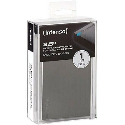 Unidad de Disco Duro Externa Intenso 6023560 Color Negro 1 TB, USB 3.0, port/átil