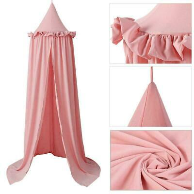 HOT Kids Baby Bed Canopy Bedcover Mosquito Net Curtain Bedding Dome Tent Cotton