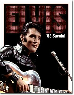 Elvis '68 Special Vintage Tin Metal Sign Garage/Man Cave Wall Art
