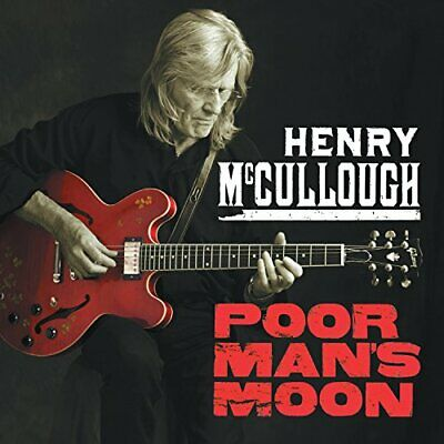 Henry McCullough - Poor Man's Moon - Henry McCullough CD G6VG The Cheap Fast The