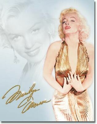 Marilyn Monroe Vintage Tin Metal Sign Garage/Man Cave Wall Art