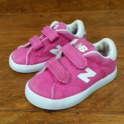f5b9752c3 New Balance Suede (Toddler Girls Size 5) Athletic Sneakers Shoes Pink White
