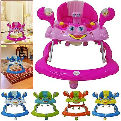 Baby Boy/Girls Walker Top Quality Activity  Musical Melody Toy Along Ride On