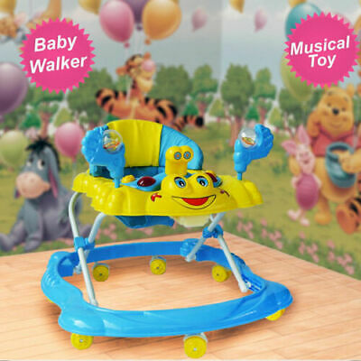 Musical Melody Toy Along Ride On Baby Boy Walker Top Quality Activity