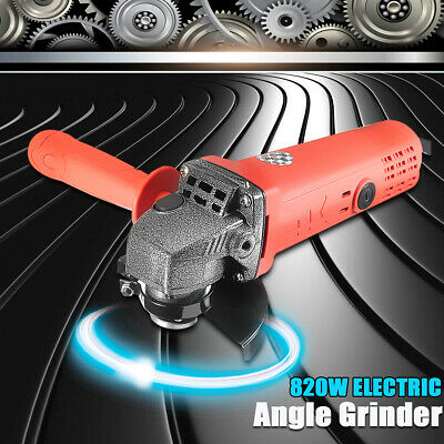 12000RMP Electric Angle Grinder 220V 125mm Metal Grinding Cutting Tool+Wrench AU