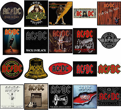 """Rock or Bust Patch 9.5cm 3 1//2/"""" AC//DC"""