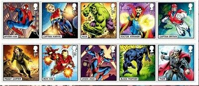 """**BEST PRICE** GB . Marvel Comics issue FULL SET OF10  issued 14/03/2019"