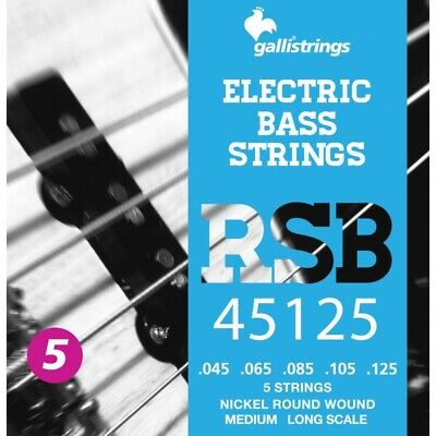 MUTE PER BASSO  GALLI STRINGS RSB45125 5 CORDE  Medium