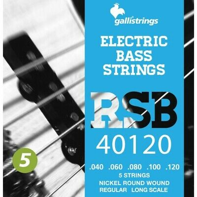 MUTA PER BASSO GALLI STRINGS RSB40120 5 CORDE Regular